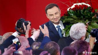 Polen / Andrzej Duda nach Wahlsieg