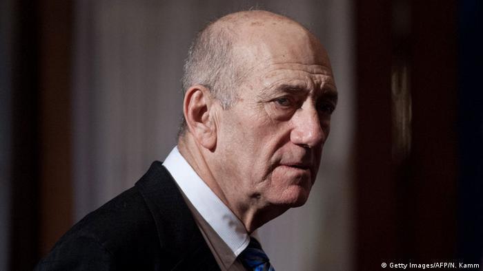 Israel Korruption Ehud Olmert Gefängnisstrafe