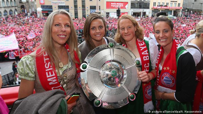 Bayern's title-winning ladies team