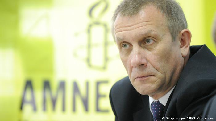 Sergei Nikitin Amnesty Russland (Archivfoto 2012: AFP)