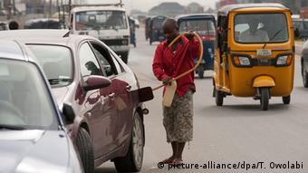 Nigeria Benzin Schwarzmarkt
