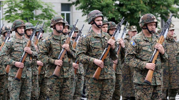 Frauen in der bosnischen Armee