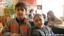 Auf dem Bild: Letzte Zuflucht Kinderheim: In der kirchlich betriebenen Einrichtung von Krasnoarmejsk ergeht es den meisten besser als in den staatlichen Einrichtungen. Rechte: Frank Hofmann / DW