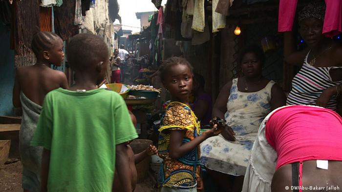 Sierra Leone Slum in Freetown