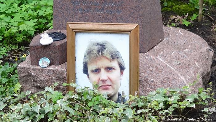 Могила Александра Литвиненко в Великобритании