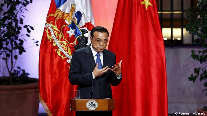 Chile Besuch Premierminister China Li Keqiang