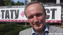Vladimir Neklyaev Dichter und Aktivist aus Weißrussland