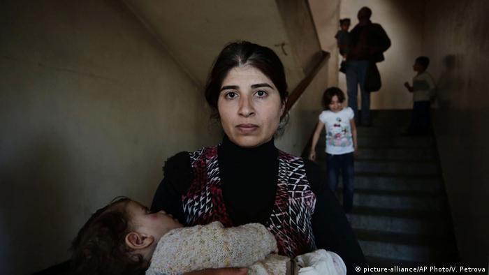 Syrische Flüchtlinge in Bulgarien (Foto: AP Photo/Valentina Petrova)