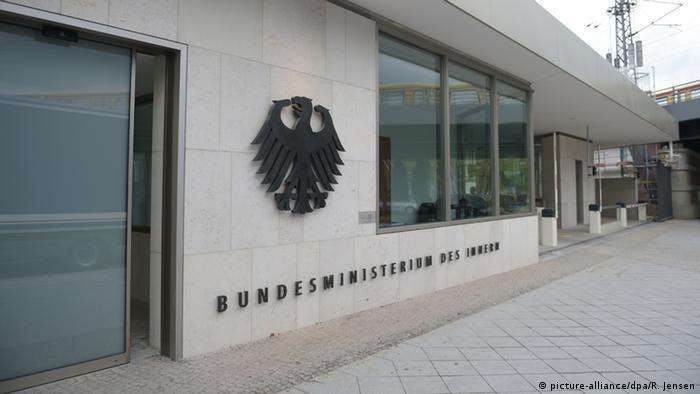 Deutschland Berlin Bundesinnenministerium Neubau