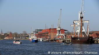 Deutschland Hafen in Lübeck