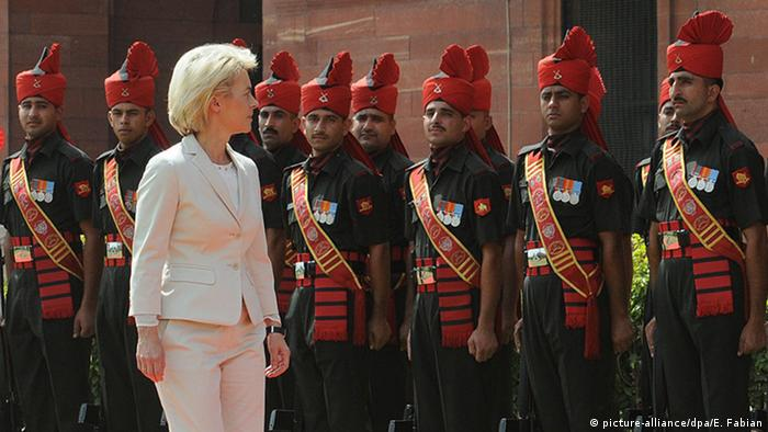 Indien Deutschland Von der Leyen in Neu Delhi