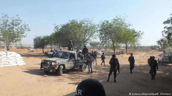Kamerun Soldaten der Rapid Intervention Battalion - Kampf gegen Boko Haram