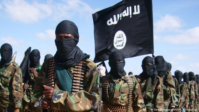 Al-Shabaab Kämpfer in Somalia