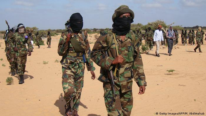 Al-Shabab fighters in Somalia Mohamed Abdiwahab/AFP/Getty Images
