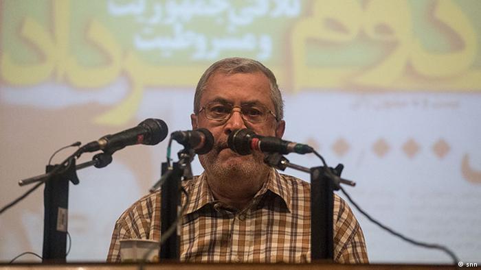 Iran Saeed Hajarian Politiktanalyst (snn)