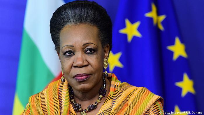 Brüssel Geberkonferenz zur Zentralafrikanischen Republik (Catherine Samba-Panza) (Getty Images/AFP/E. Dunand)
