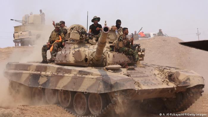 Iraks Truppen starten Gegenangriff auf Ramadi (Foto: Getty)