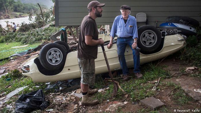 USA Zerstörung nach Flut in Texas (Reuters/T. Kalifa)