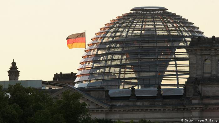 The Reichstag building, seat of the national Parliament of the Federal Republic of Germany, the Bundestag, stands on July 20, 2013 in Berlin, Germany.
