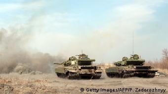 Ukraine Panzer Luhansk