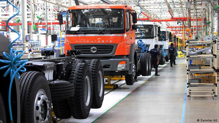 Indien Daimler Truck und Bus-Werk in Chennai (Daimler AG)