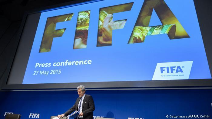 Schweiz FIFA Walter De Gregorio PK in Zürich