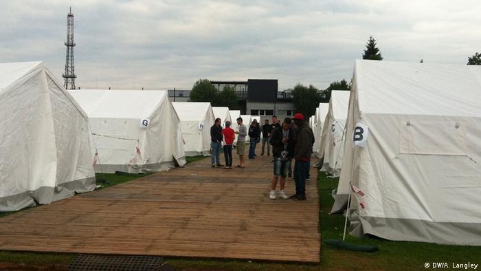 Linz's tent city