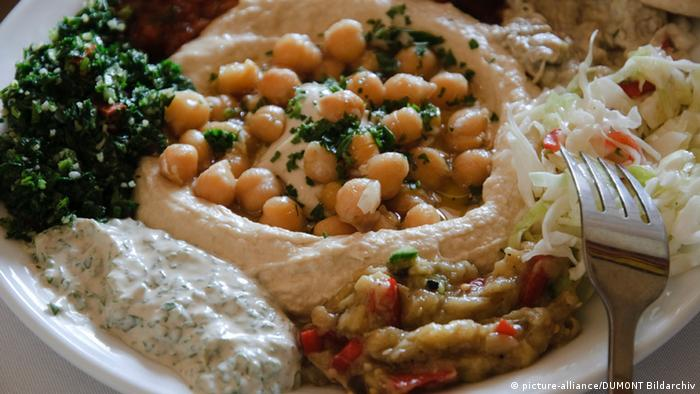 Arabisches Essen Hummus (picture-alliance/DUMONT Bildarchiv)