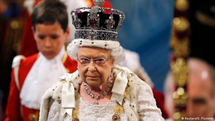 Großbritannien Thronrede von Queen Elizabeth II. vor dem Parlament