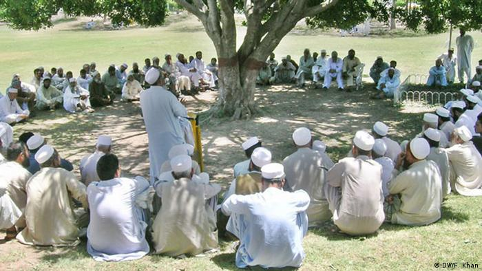 A tribal gathering in Pakistan