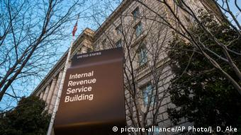 IRS-Zentrale in Washington D.C. (picture-alliance/AP Photo/J. D. Ake)