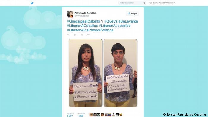 Patricia de Ceballos, esposa del ex-alcalde de San Cristóbal, anuncia su movimiento de protesta