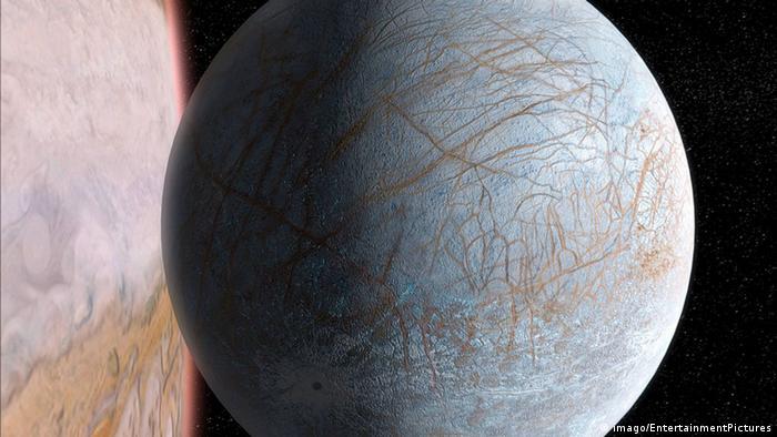 Jupiter-Mond Europa (imago/EntertainmentPictures)