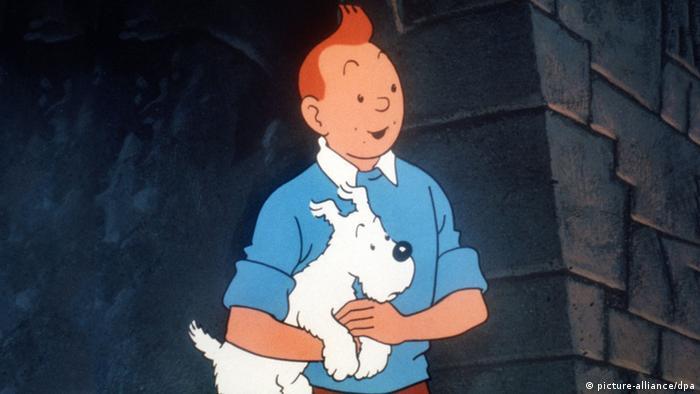 Tim und sein Hund Struppi