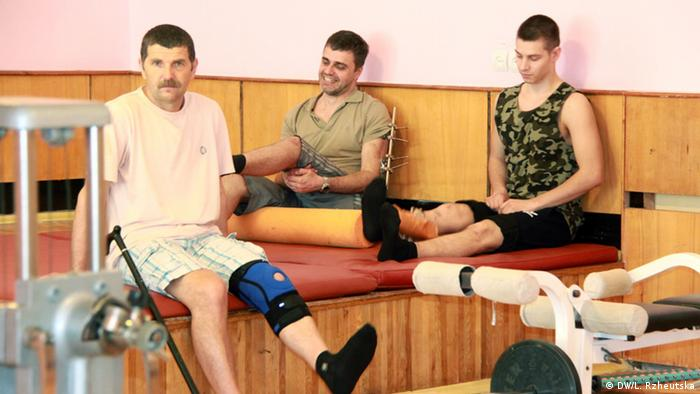 Нині лікування в Центрі психофізичної реабілітації проходять близько шести десятків солдатів з зони АТО