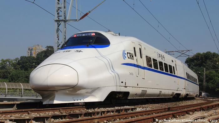 China CRH Bullet Train Schnellzug