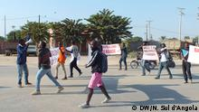 Protest in Benguela, Angola