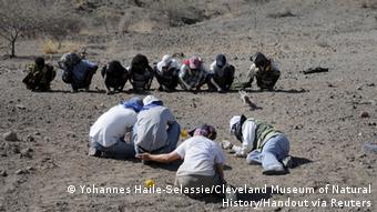 Äthiopien Knochenfund Fossil Australopithecus deyiremeda