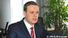 Gabrielus Landsbergis, Abgeordneter des Europaparlaments