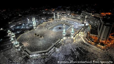 Saudi Arabien Große Moschee in Mekka