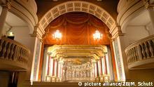 Historische Theater Schloss Friedenstein in Gotha