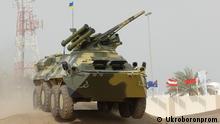 Ukraine Mannschaftstransportwagen BTR-3E1 von Ukroboronprom