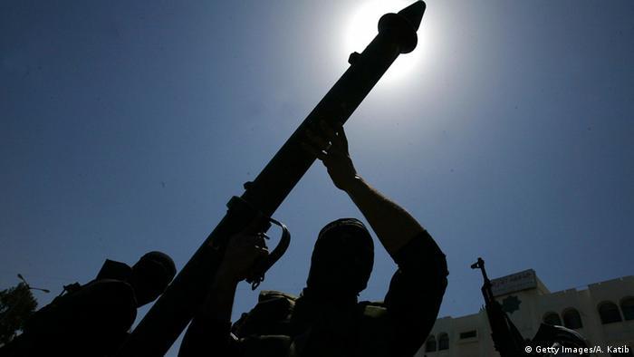 Bewaffnete in Gaza Symbolbild
