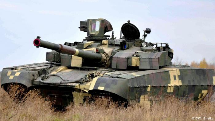 Один із продуктів Укроборонпрому - український танк Т84У Оплот