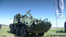 Ukraine Panzerwagen Mannschaftstransportwagen BTR-4