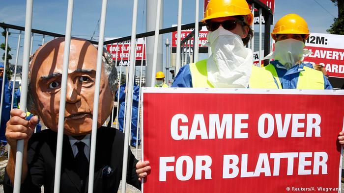 Zürich Anti FIFA Proteste Korruptionsskandal