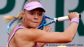 Tennis French Open Carina Witthoeft (picture-alliance/dpa/Y. Valat)
