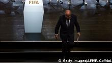 Zürich FIFA Kongress Rede Sepp Blatter
