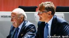 Zürich FIFA Kongress Blatter und Valcke