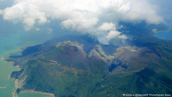 Japan, Shindake Vulkanausbruch (Foto: ap)